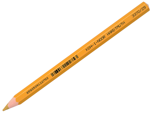 Pastelka KOH-I-NOOR, Omega JUMBO (3370) tmavě okrová