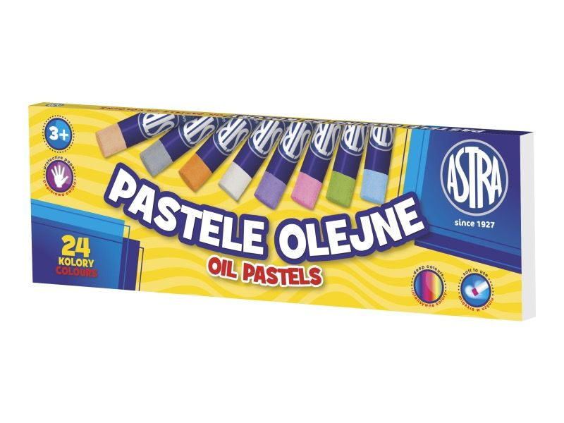 ASTRA olejové pastely - 24 barev