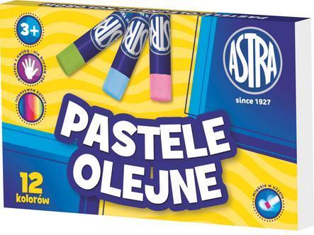 Olejové pastely Astra - 12 barev