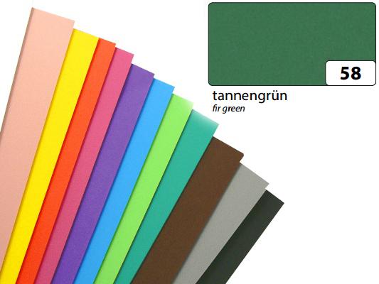 Dekorativní pěna 20x29cm tmavě zelená, cena za 1 list
