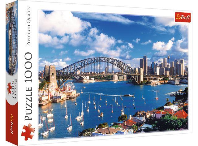 Puzzle 1000 dílků - Port Jackson, Sydney