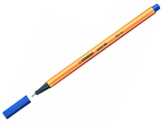 Liner STABILO Point 88/41 - tmavě modrý