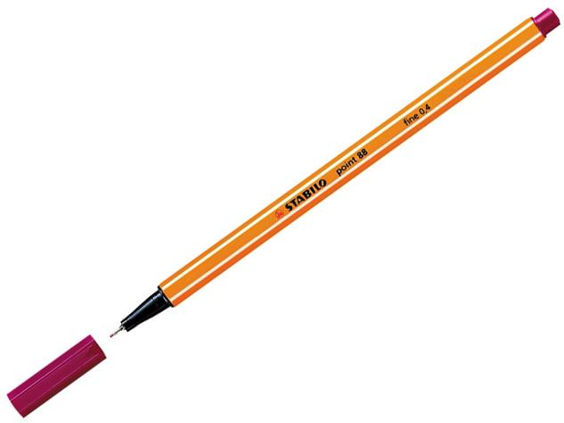 Liner STABILO Point 88/50 - karmínový