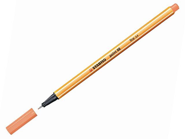 Liner STABILO Point 88/26 - meruňkový
