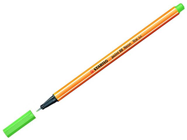 Liner STABILO Point 88/33 - neónově zelený