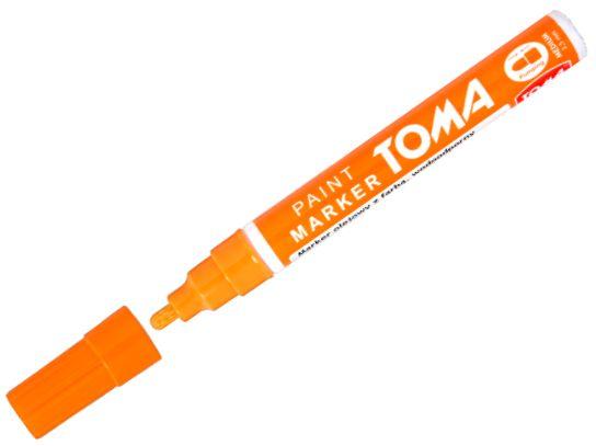 Olejový popisovač Toma - oranžový