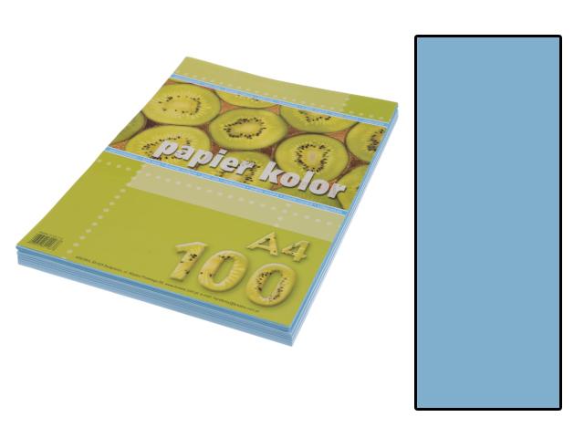 Xerox papír A4 světle modrý, 100 kusů