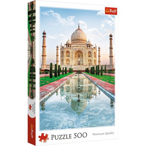 Puzzle Trefl, 500 dílků, Tadź Mahal