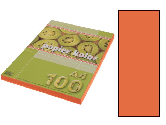 Xerox papír A4 oranžový, 100 kusů