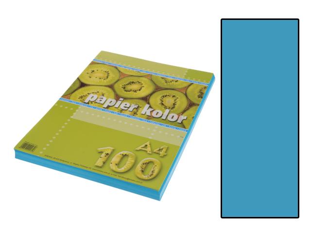 Xerox papír A4 jasně modrý, 100 kusů
