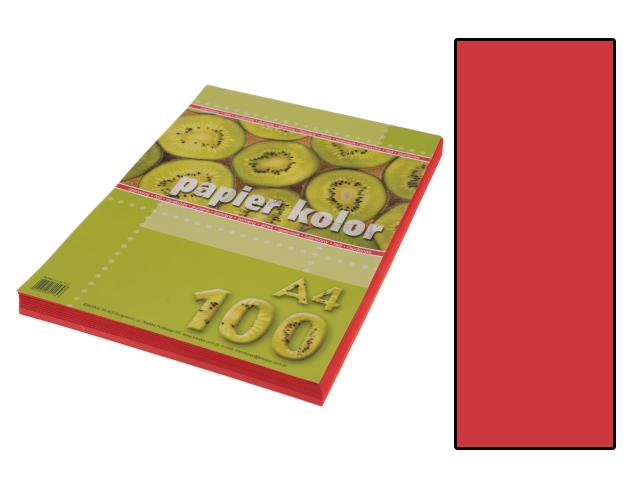 Xerox papír A4 sytě červený, 100 kusů