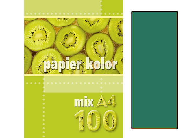 Xerox papír A4 tmavě zelený, 100 kusů