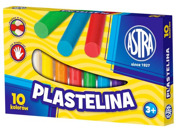 Plastelína Astra - 10 barev