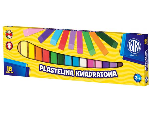 Plastelína ASTRA hranatá 10 barev