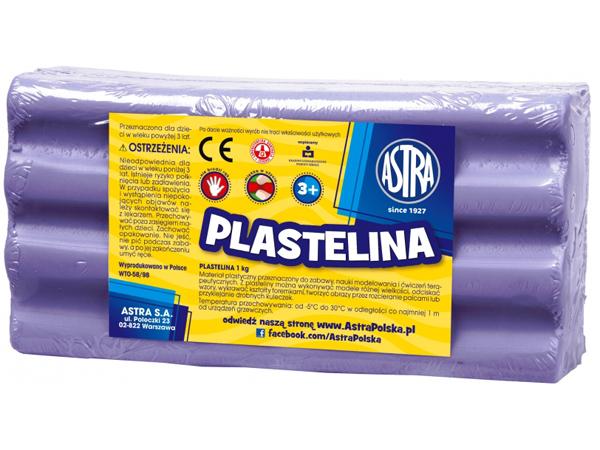 Plastelína ASTRA světle fialová 1 kg