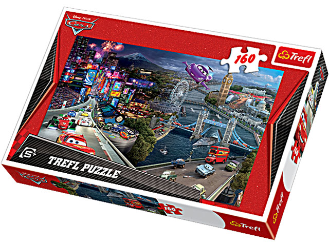Puzzle 160 TREFL - Cars, koláž