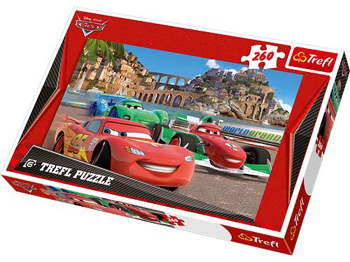 Puzzle 100 Trefl - Auto Cars