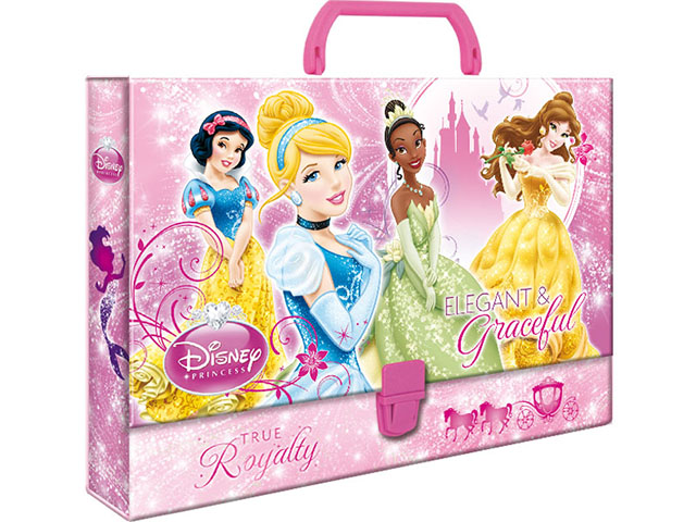 Složka s rukojetí DERFORM - Disney Princess