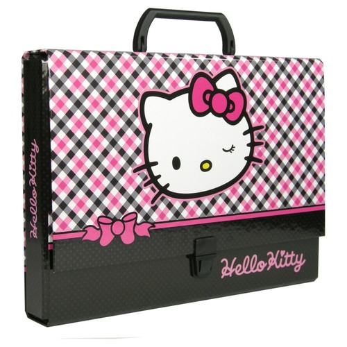 Složka s rukojetí DERFORM - Hello Kitty