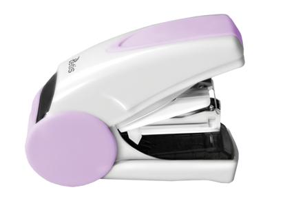 Mini sešívačka TETIS GV080FB na drátky No. 10 - fialová