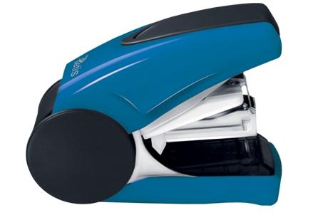 Mini sešívačka TETIS GV080NV na drátky No. 10 - modrá
