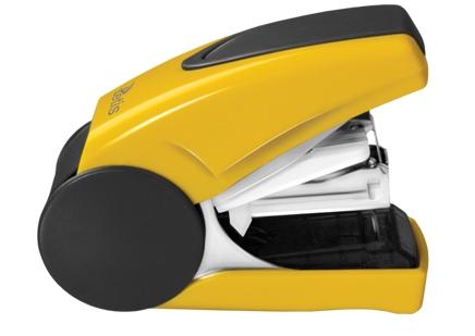 Mini sešívačka TETIS GV080YV na drátky No. 10 - žlutá