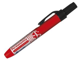 Marker permanentny click ZENITH koñcówka okr±g³a - czerwony