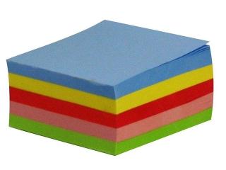 Kostka KRESKA kolorowa klejona 75 x 75 mm