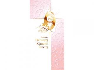 Kartki karnet DL Komunia  KS 01