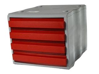 Szuflada czerwona Box 4