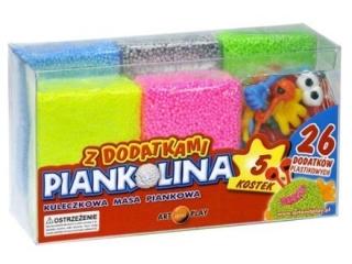 Piankolina ART&PLAY 5 kolorów - z dodatkami