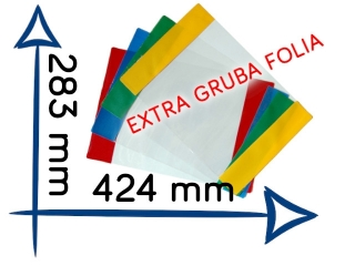 OK-16 Ok³adka Nasz elementarz EXTRA gruba folia 283x424 mm