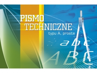 "Blok - pismo techniczne KRESKA typu ""A proste"" A4"
