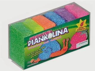 Piankolina ART&PLAY 6 kolorów - neon