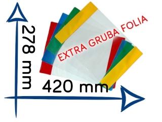 OK-29 Ok³adka Nasza Szko³a EXTRA gruba folia 278x420 mm