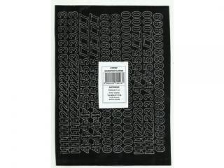 Cyfry samoprzylepne ART-DRUK  10mm czarne Helvetica 10 arkus