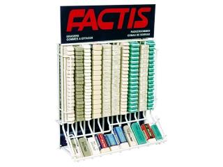 Gumki FACTIS zestaw EG-10 ( 546 gum )