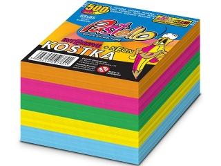 Kostka klejona 85x85 500k neon-intensiv kolor