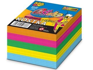 Kostka nieklejona 85x85 500k neon-intensiv kolor