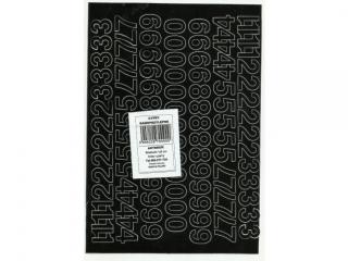 Cyfry samoprzylepne ART-DRUK  15mm czarne Helvetica 10 arkus