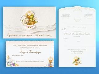Kartki zaproszenie komunia DELTA ZZ05K a'5
