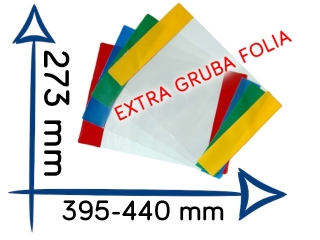 OR-7 Ok³adka Gold Sparks, Ale muzyka EXTRA gruba folia 273x3
