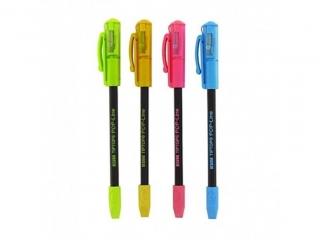 O³ówek z temperówk± i gumk± TIP POP, mix kolorów, (tuba) [op