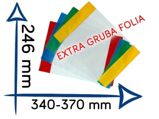 OR-10 Ok³adk B5 wysoka EXTRA gruba folia regulowana 246x340-