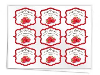 Etykiety na przetwory seria A pomidor