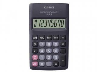 Kalkulator CASIO kieszonkowy HL-815L-BK-S