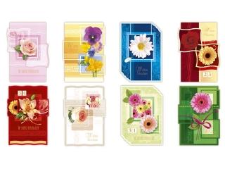 Kartki karnet B6 brokat Urodziny