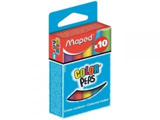 Kreda kolorowa MAPED Colorpeps 10 kolorów