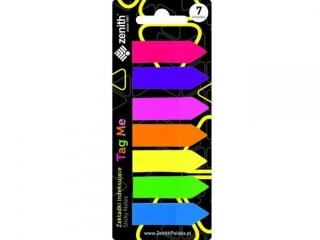 Zak³adki indeksuj±ceZENITH  Tag Me 7 kolorów
