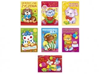 Kartki karnet B6 Oczka Dzieciêce